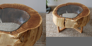 Oak Ring Coffee Table Ii